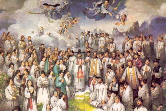 Ss. André Kim Taegón, Presb., Paulo Chong Hasang e Comps., Mts., memória.