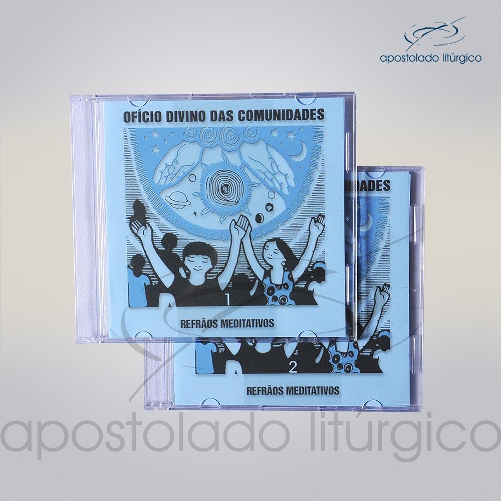 CDs Refrãos Meditativos