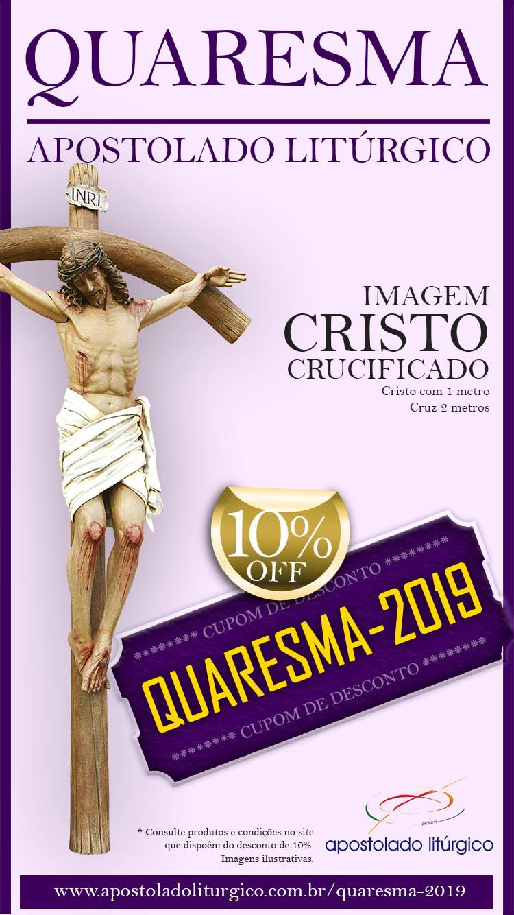 Quaresma Apostolado Imagem Cristo